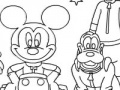 Mickey Mouse Klub Coloring